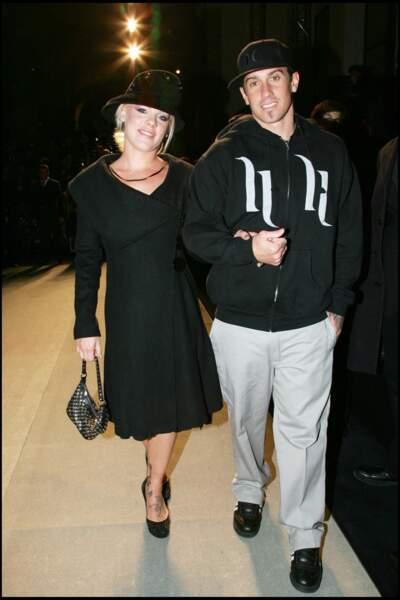 Pink et Carey Hart en 2006, avant leur brève séparation deux ans plus tard