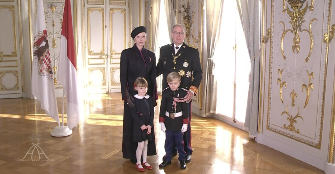 Albert et Charlène de Monaco, Gabriella et Jacques