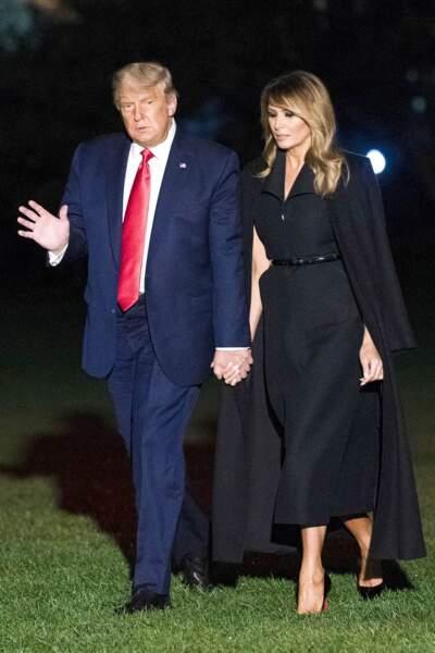 Après une rupture de quelques mois, Melania et Donald Trump se retrouvent finalement... et sont encore mariés aujourd'hui