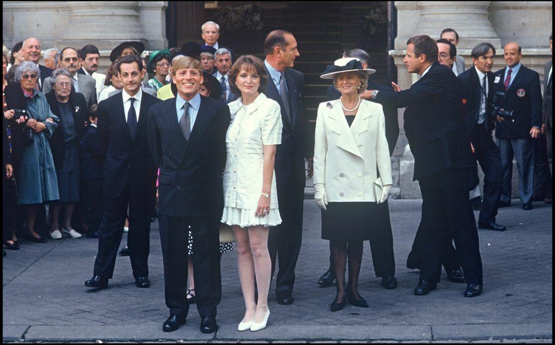 En 1992, Claude Chirac se marie avec le politologue Philippe Habert. Nicolas Sarkozy est son témoin de mariage.