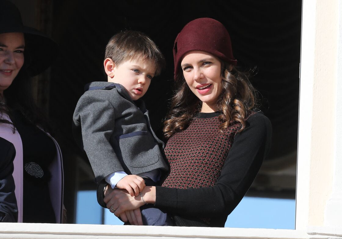 Charlotte Casiraghi et son fils Raphaël
