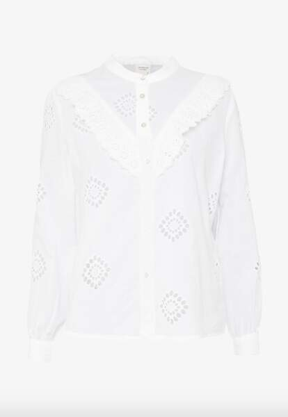 Chemise Blanche, 23,99€, DY sur Zalando.fr