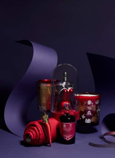 Une bougie, un parfum, une taie en pour Noël 2020