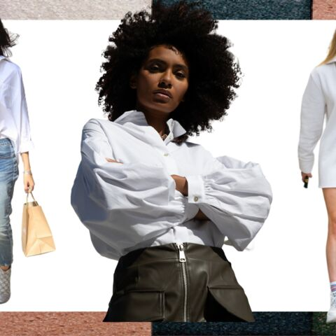 Tendance mode: comment porter la chemise blanche avec style