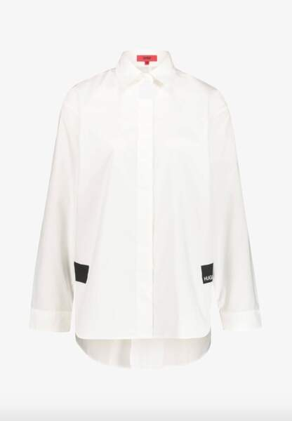 Chemise blanche, 119,95€, Hugo sur Zalando
