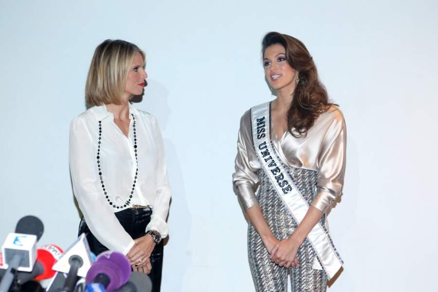 Sylvie Tellier, Iris Mittenaere, Miss France et Miss Univers