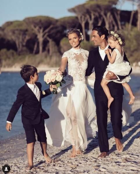 Sylvie Tellier à nouveau mariée