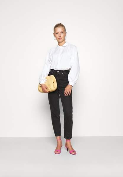 Chemise blanche, 27,99€, Only sur Zalando