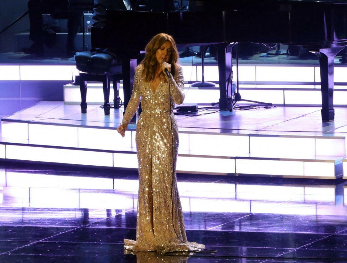 Céline Dion en concert à Las Vegas