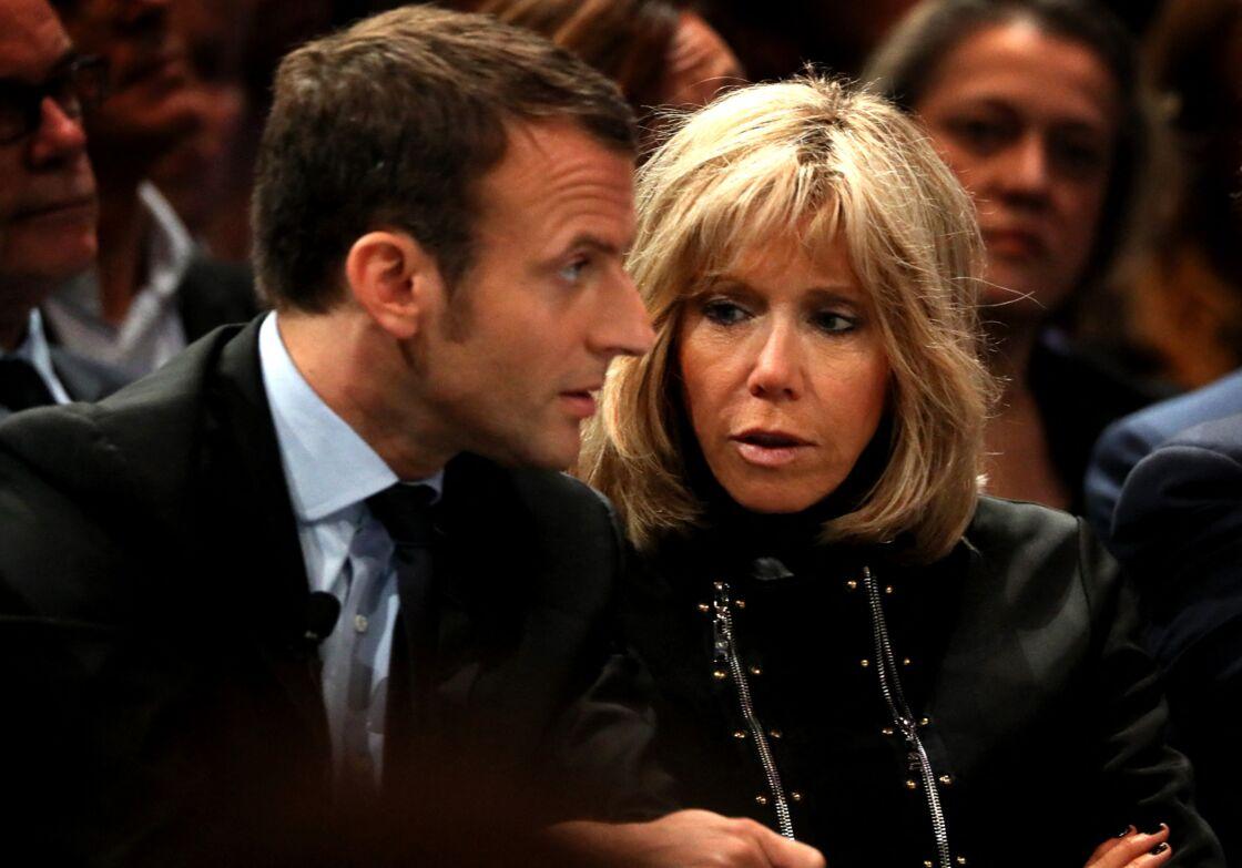 Brigitte et Emmanuel Macron en 2016