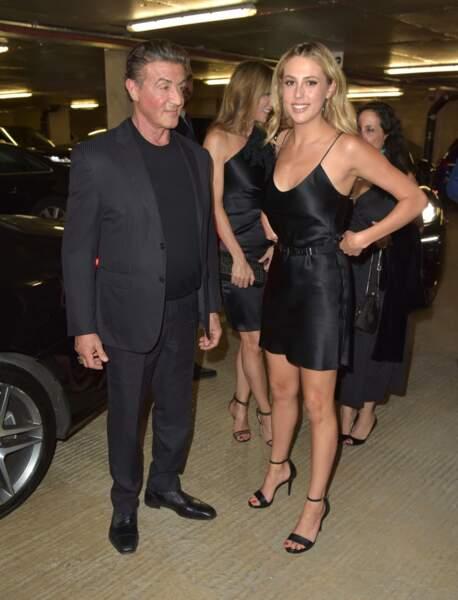 Au sein du trio de choc, Sophia Stallone, née en 1996, est l'aînée