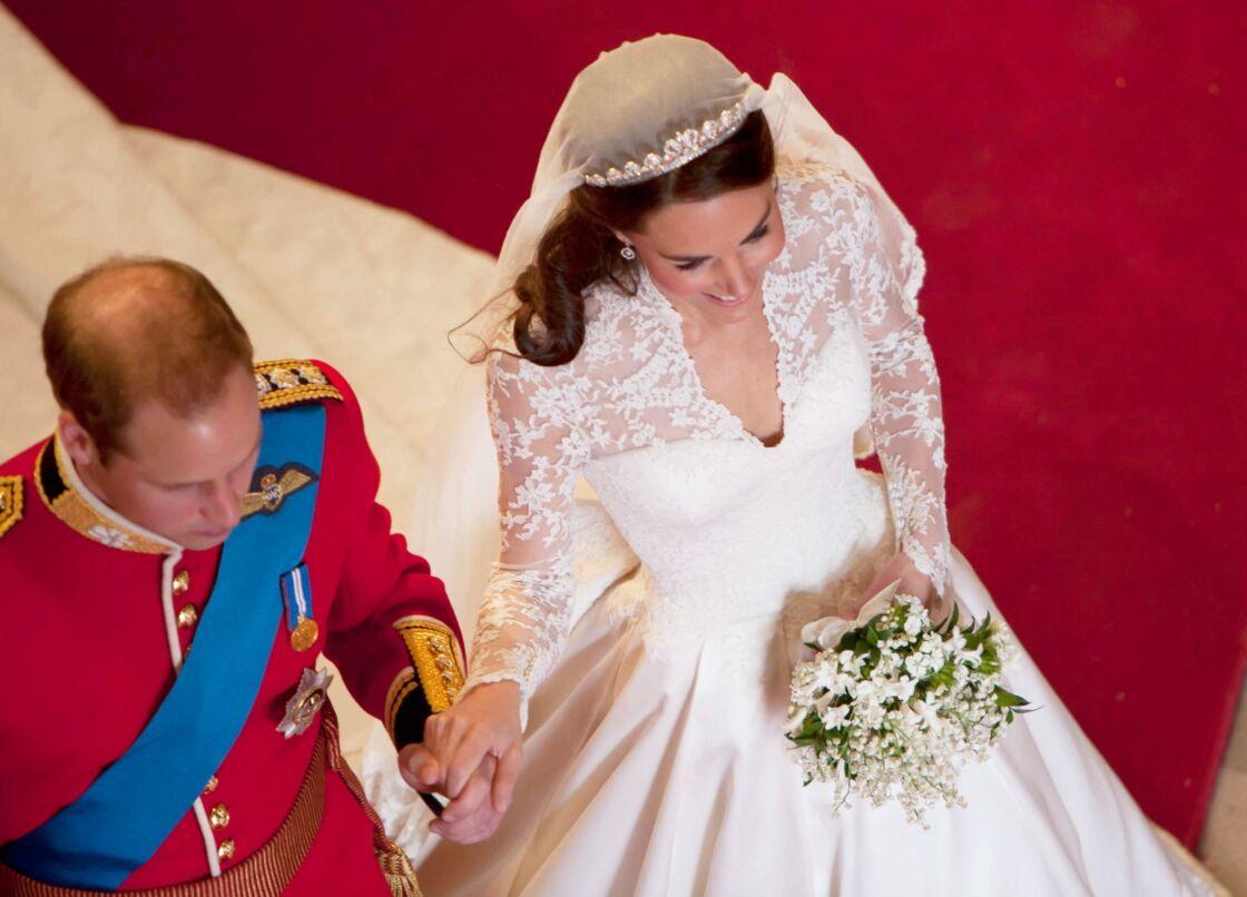 Le bouquet de mariée de Kate Middleton était composé, notamment, d'œillets de poète, aussi appelés