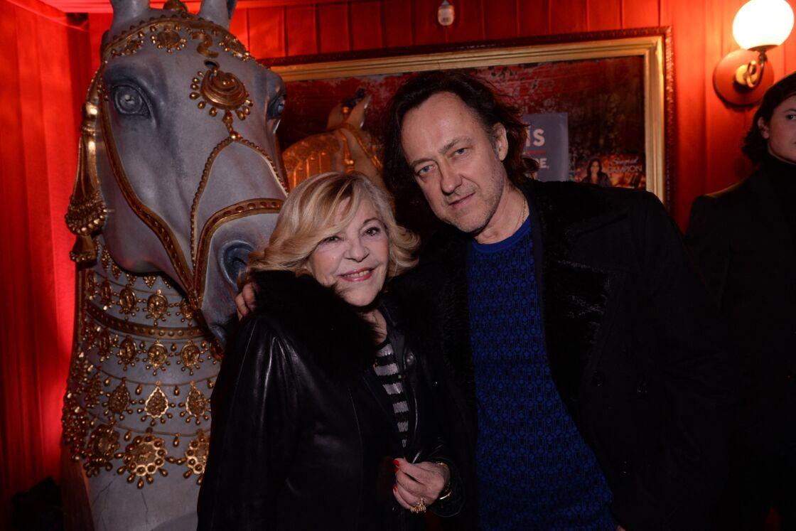 Nicoletta et son mari Jean-Christophe Molinier le 17 février 2020