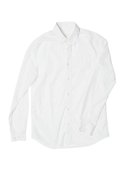 Chemise blanche beaubourg, 95€, New jersey