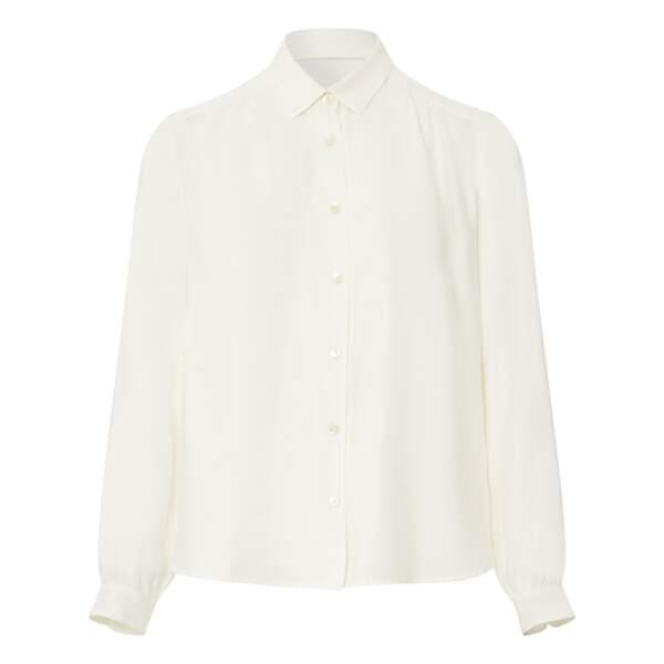 Chemise blanche en Popeline Gastoo, 99€, Bellerose