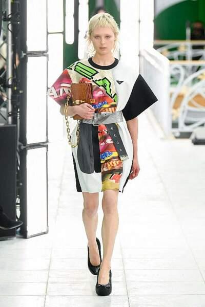 La coupe mulet effilée version Louis Vuitton.