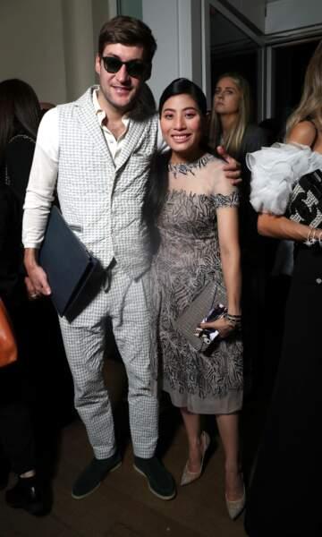 La princesse Sirivannavari et son conjoint, le businessman français Guillaume Rava.