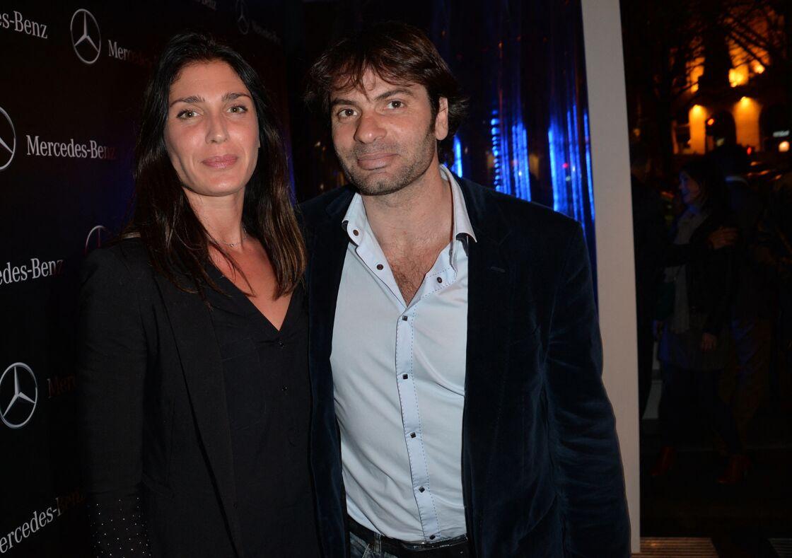 Christophe Dominici et son épouse