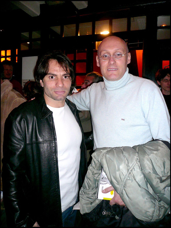Christophe Dominici et Bernard Laporte le 16 janvier 2007