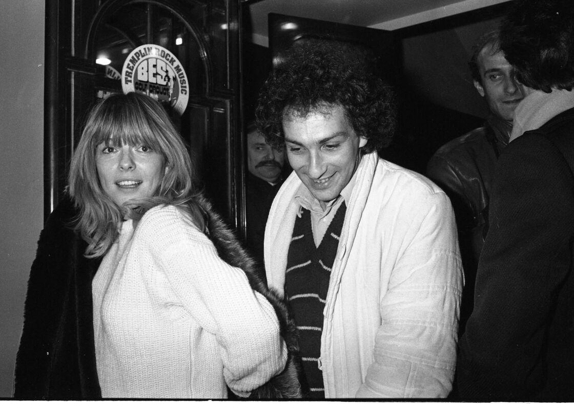 Michel Berger et France Gall lors de la soirée blanche d'Eddie Barclay
