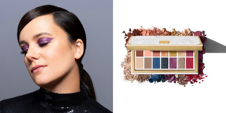 La chanteuse Alizée incarne cette saison la toute nouvelle palette de la marque Vegan KVD Beauty