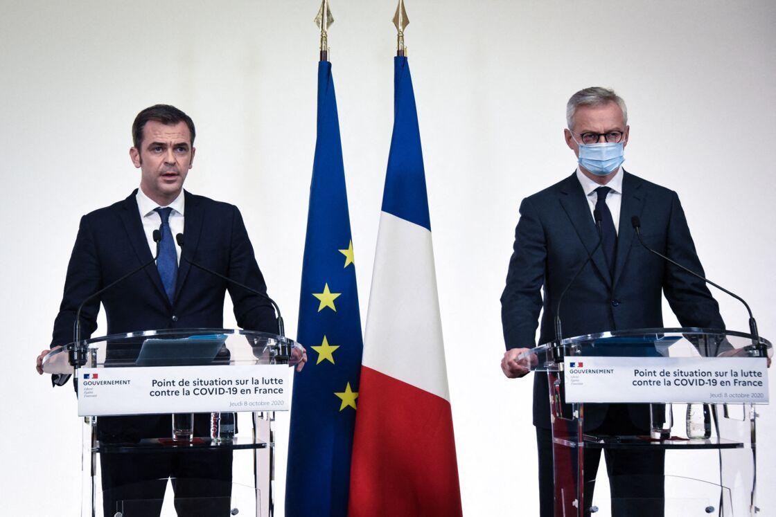 Olivier Véran et Bruno Le Maire face à la crise