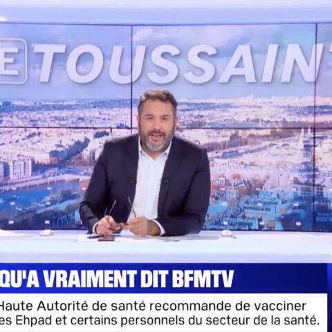 «Journaliste, c'est un métier!»: Bruce Toussaint monte au créneau après des accusations de fake news