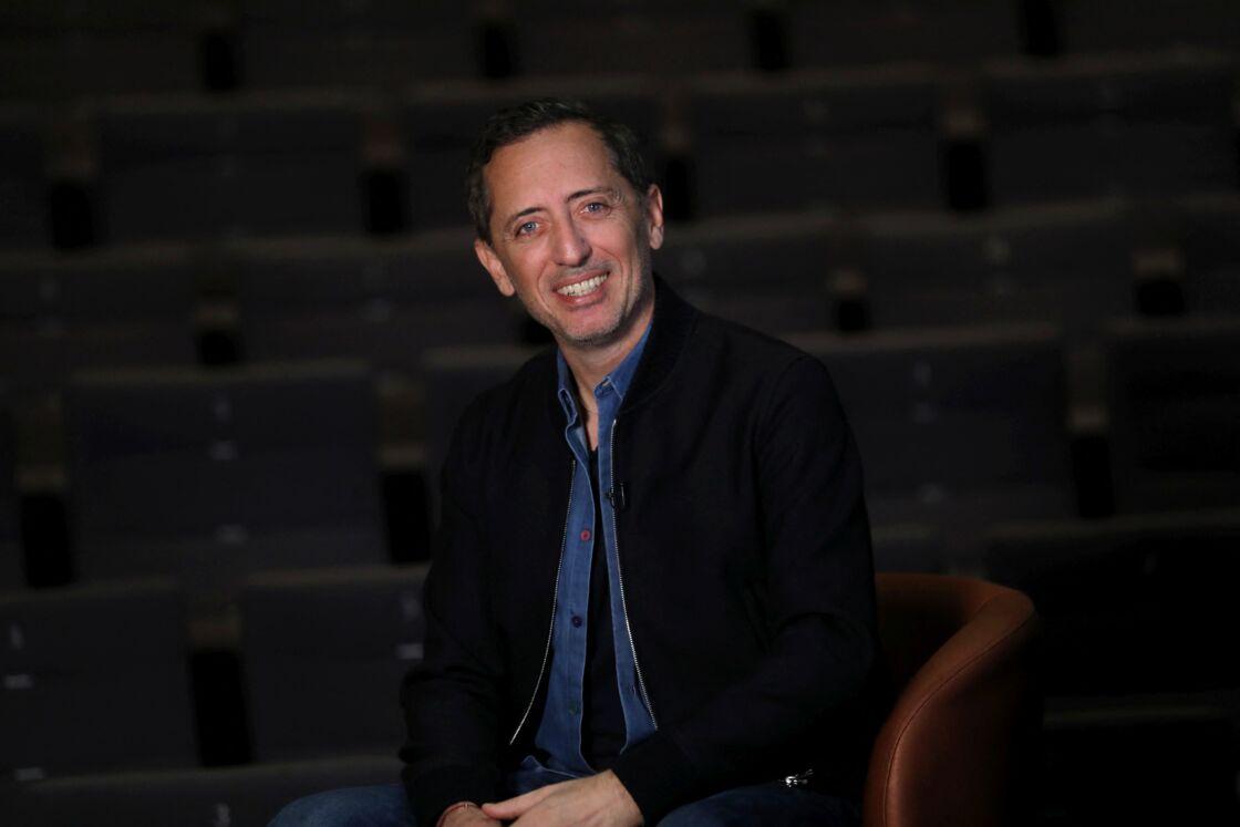 Gad Elmaleh avant les représentations de son nouveau spectacle du 3 et 4 décembre à la salle Prince-Pierre du Grimaldi Forum à Monaco, le 17 novembre 2020