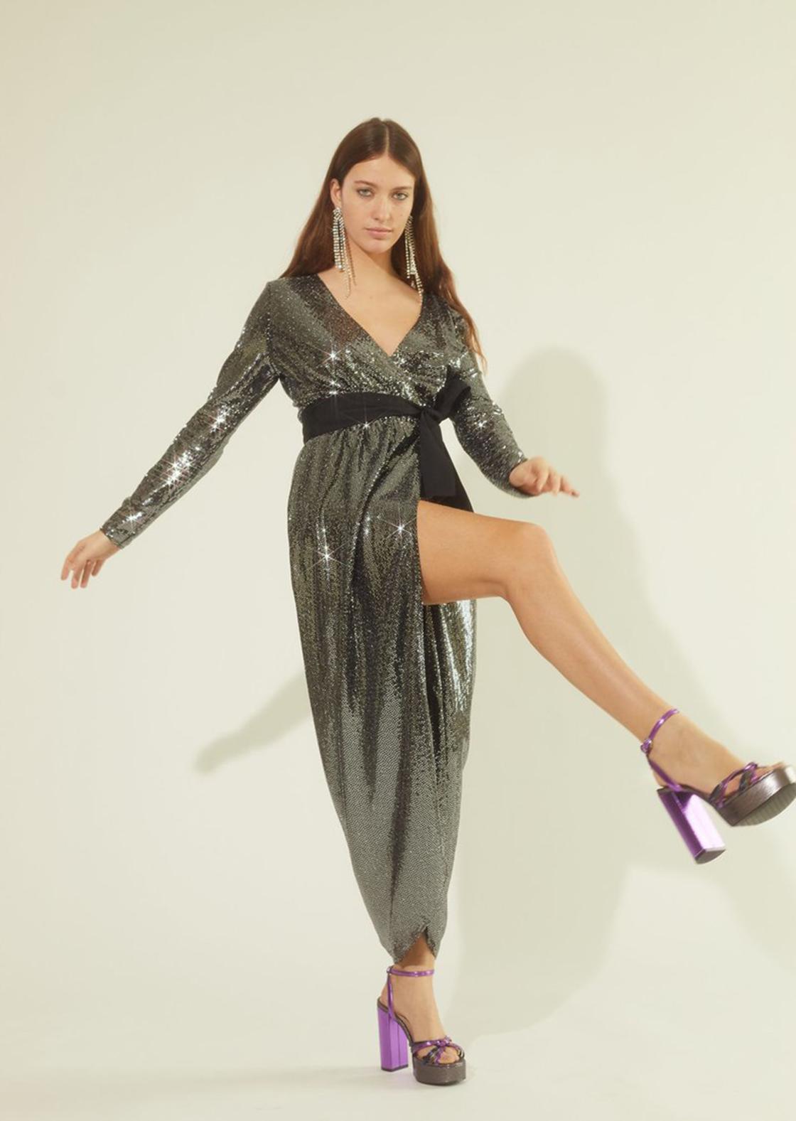 Une robe à paillettes pour les fêtes