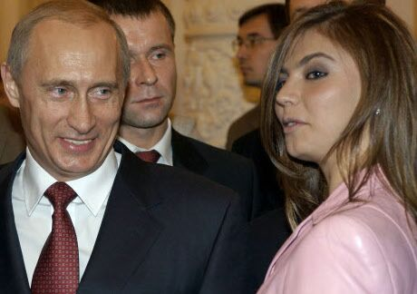 Vladimir Poutine et Alina Kabaeva, en 2006