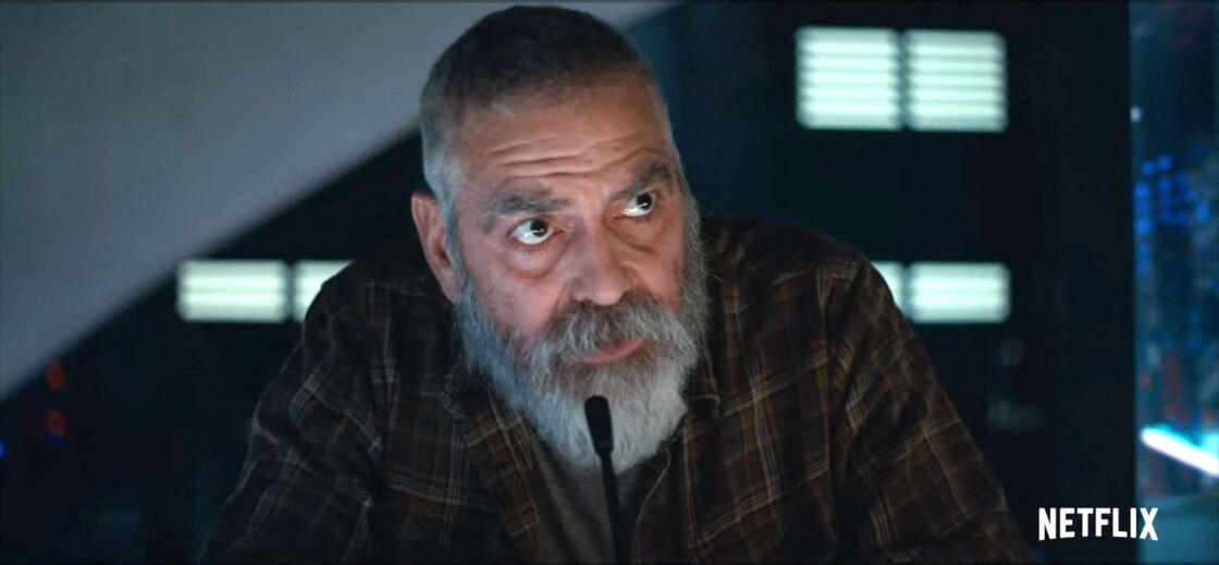 George Clooney, dans The Midnight Sky, qui sort le 23 décembre prochain sur Netflix.
