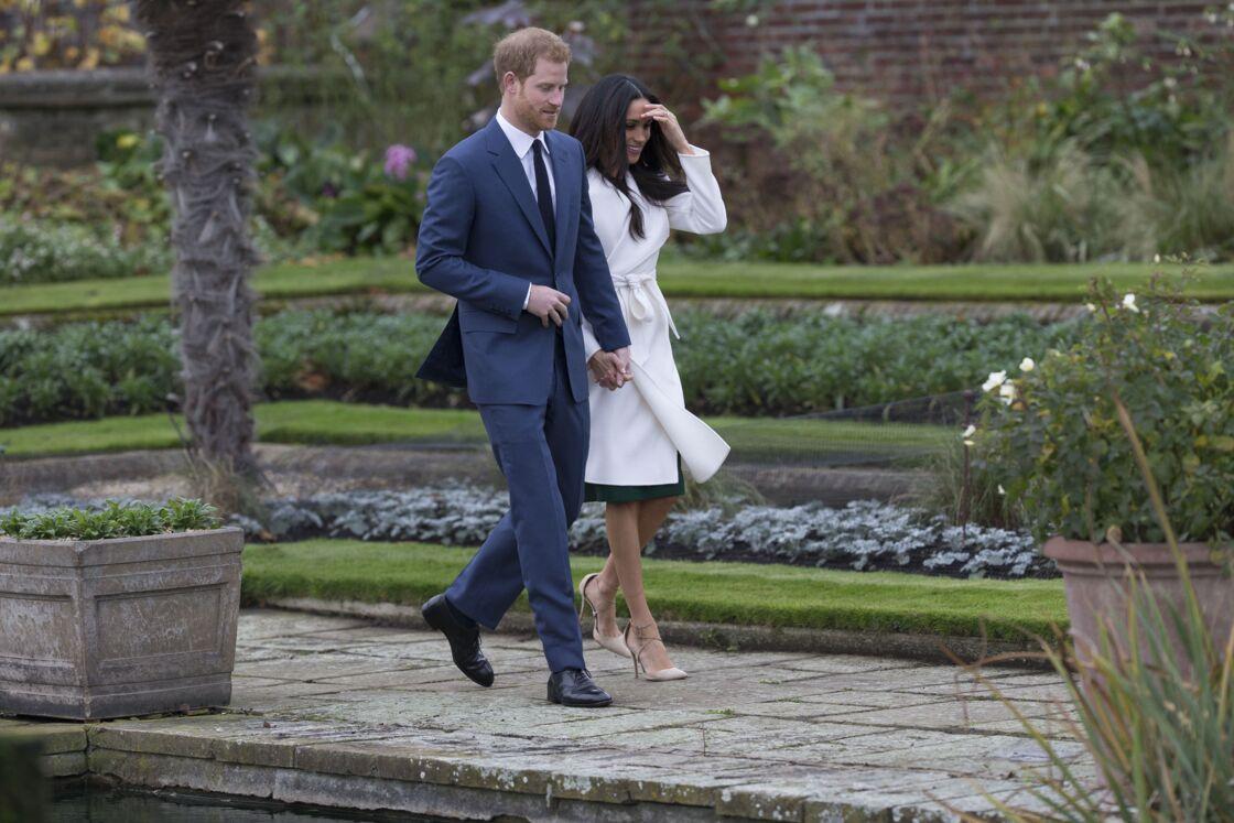 Meghan et Harry annoncent leurs fiancailles