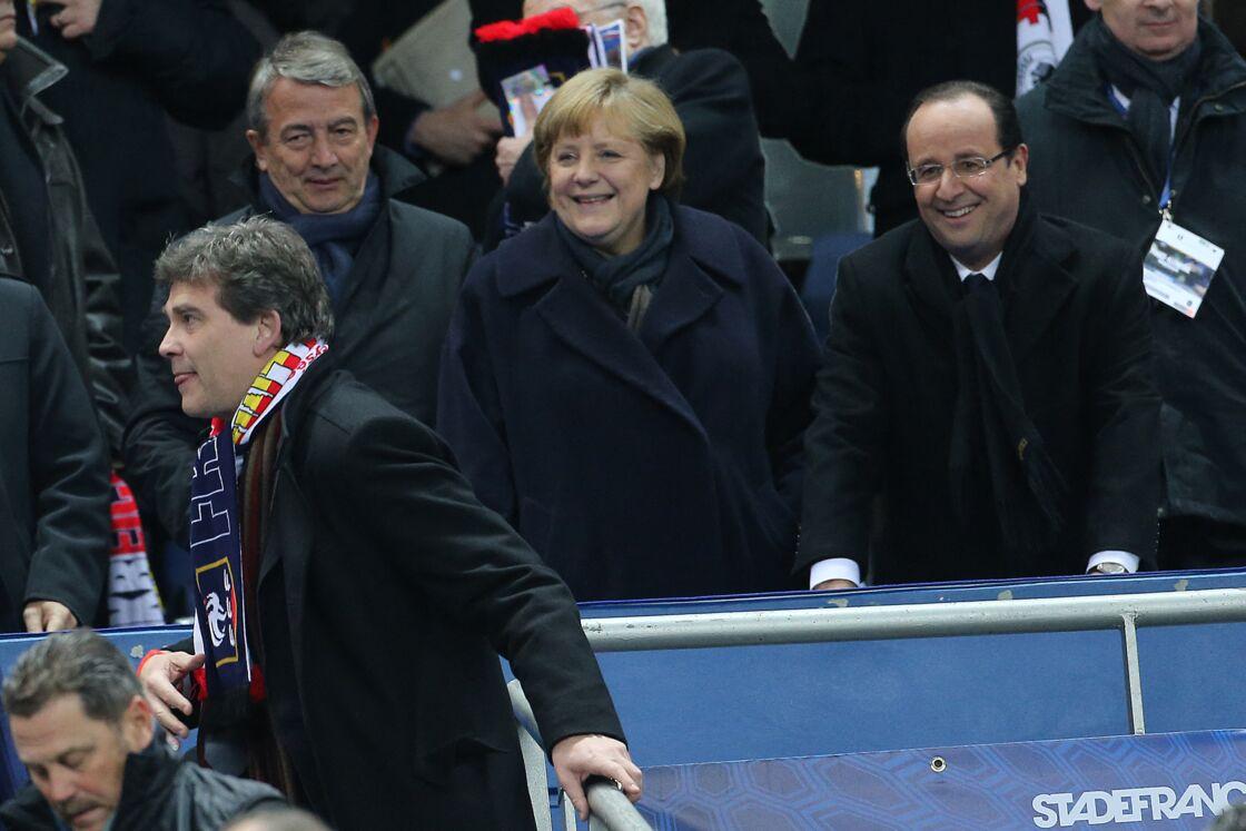 Angela Merkel, François Hollande et Arnaud Montebourg
