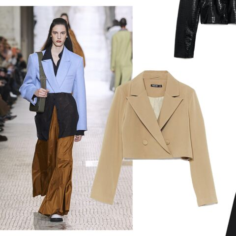 PHOTOS – Comment porter le cropped blazer ultra-tendance?