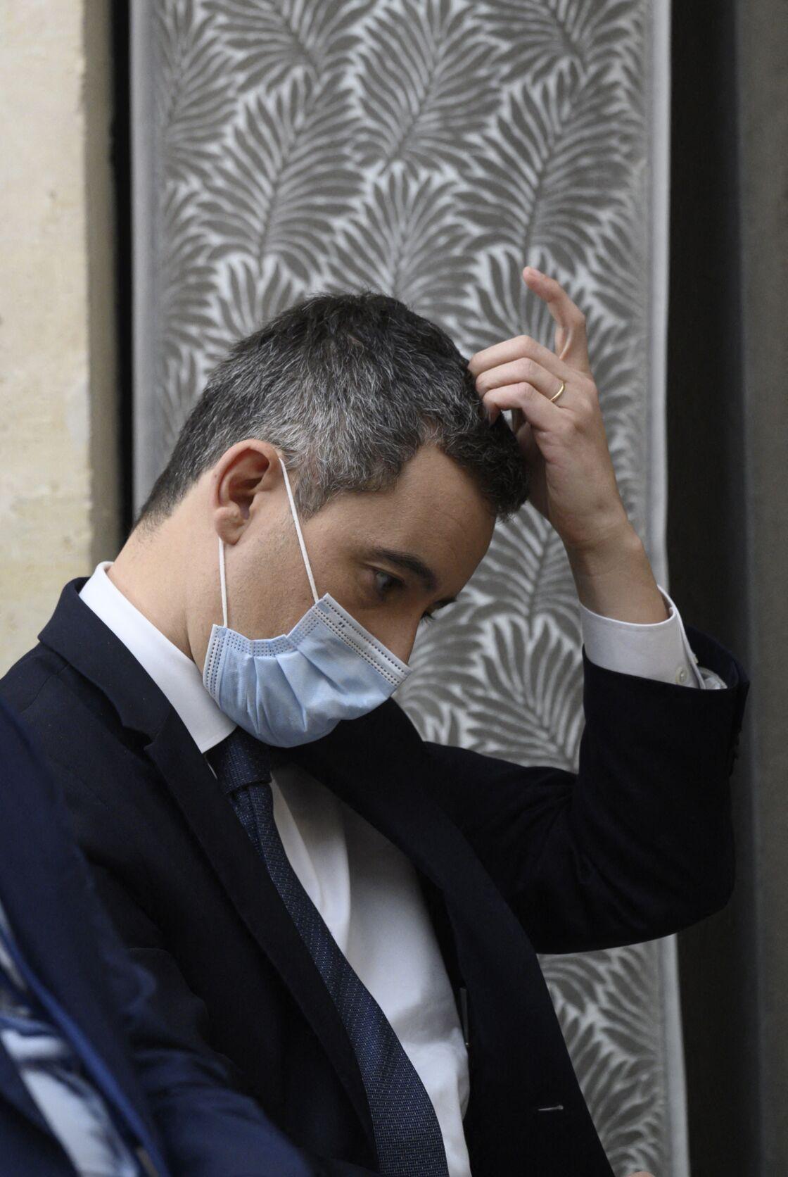 À l'image d'Emmanuel Macron à l'Élysée, Gérald Darmanin semble lui aussi marqué le pouvoir, d'autant plus depuis qu'il est au ministère de l'Intérieur.