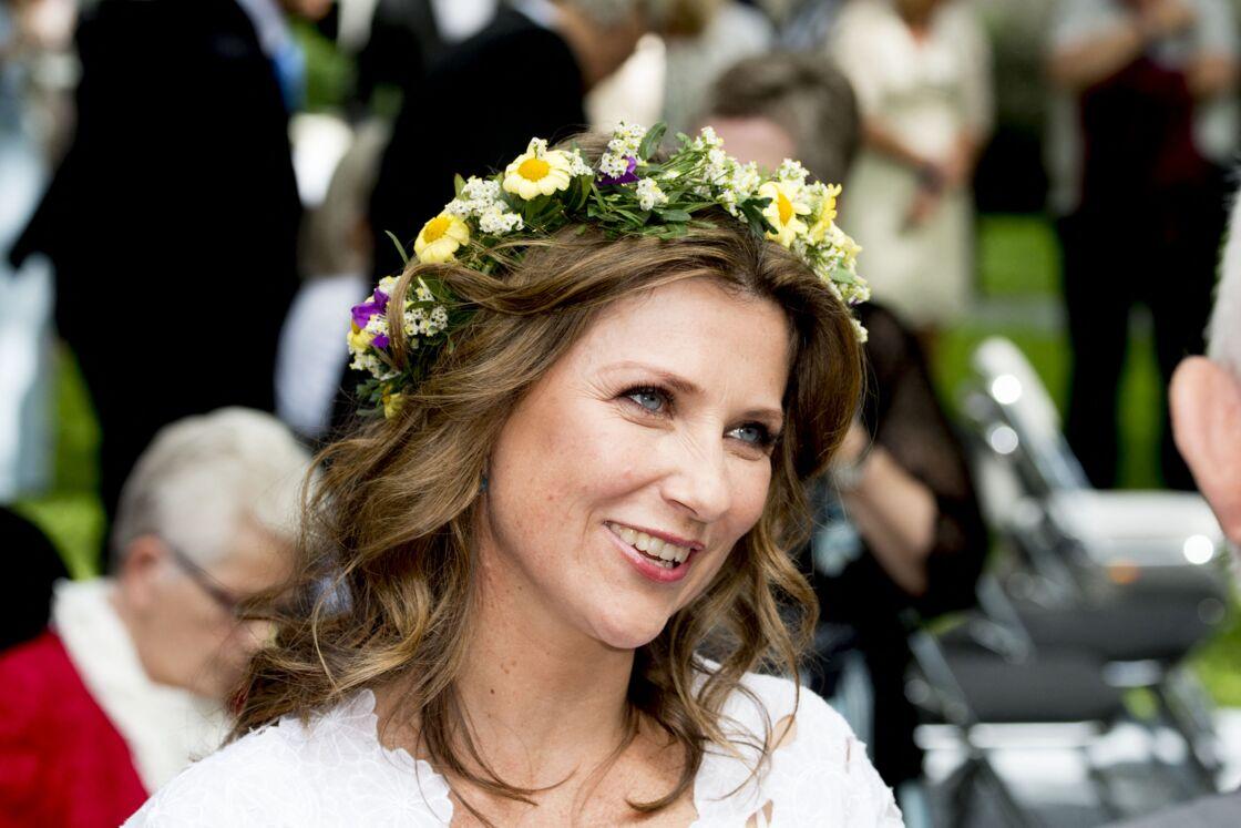 Märtha Louise de Norvège continue toujours de participer à des événements officiels, comme ici, en 2016, lors du jubilé des 25 ans de règne de son père, le roi Harald V.