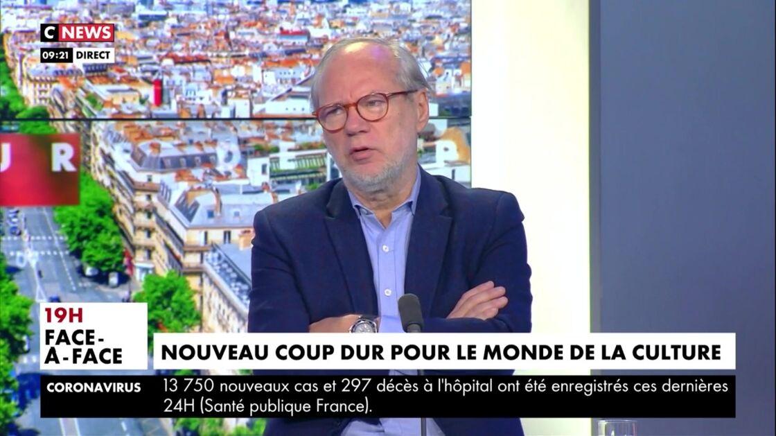 Laurent Joffrin sur CNews, le vendredi 11 décembre 2020