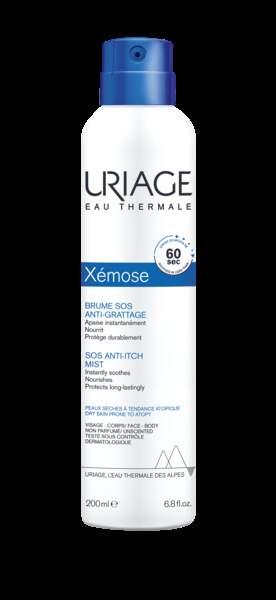 Brume apaisante Xemos, Uriage, 13,90€.