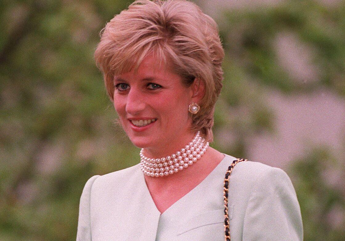 Diana, en 1996