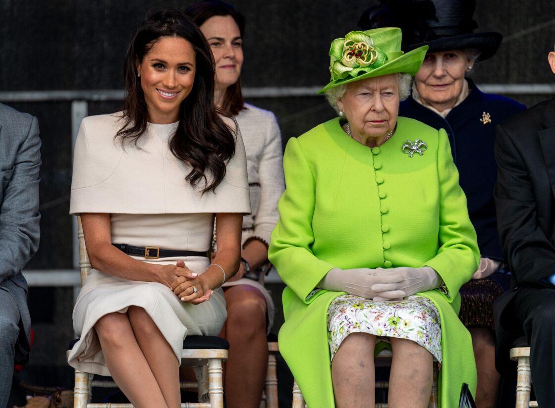 La reine Elizabeth II et Meghan Markle