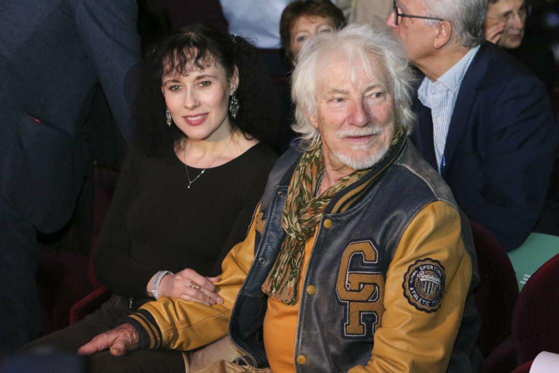 Depuis 2005, et bien qu'il soit encore officiellement marié à Hélène Faure, Hugues Aufray partage la vie de Muriel