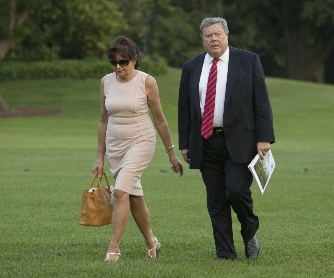 Amalija et Viktor Knavs, très proches de leur fille, Melania Trump, ont leurs appartements à la Maison Blanche