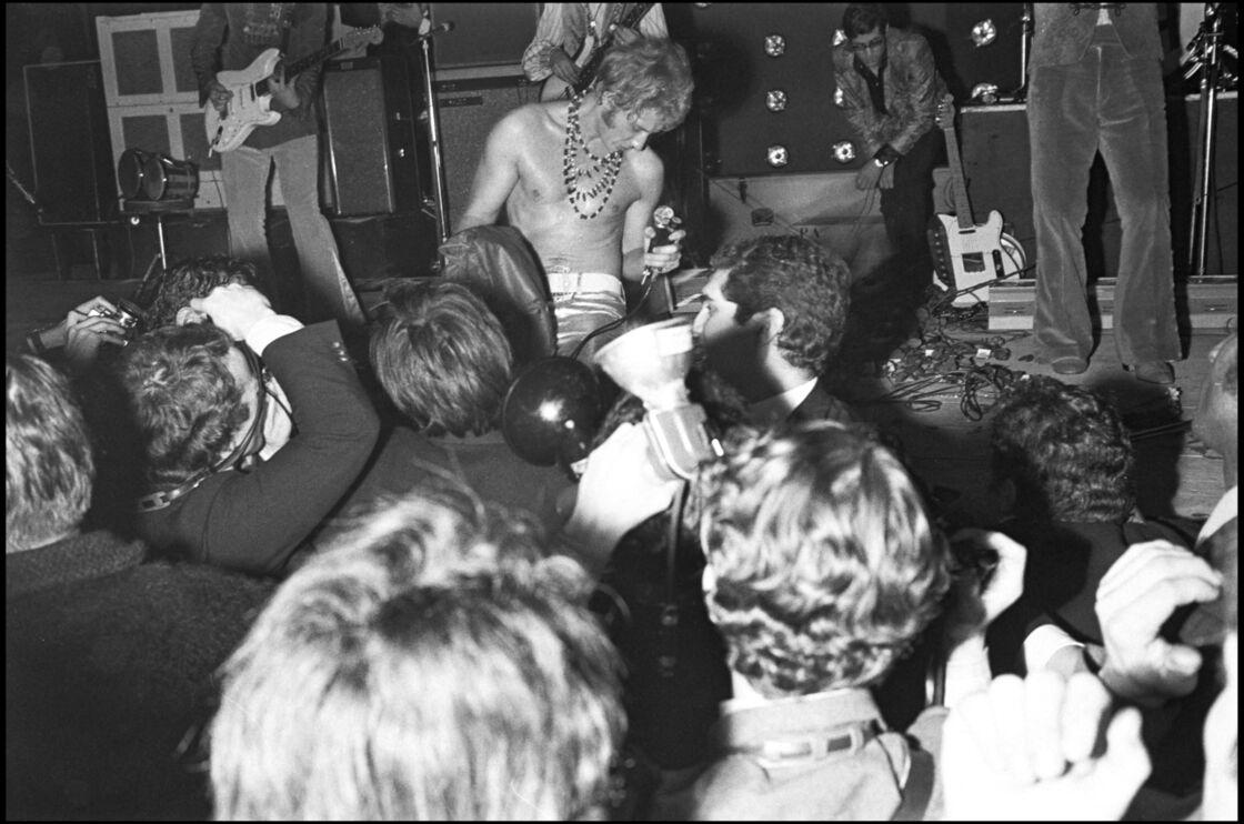 Dès 1967, Johnny Hallyday donnait tout pour son public