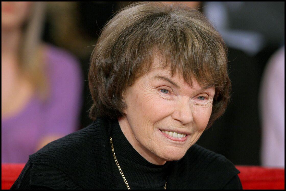 Danielle Mitterrand, en 2006, dans l'émission Vivement Dimanche.