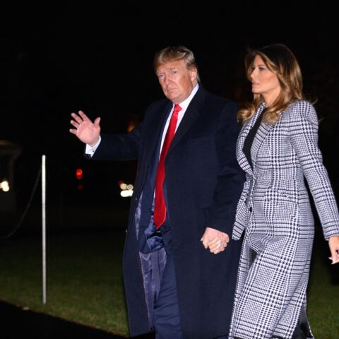 PHOTO – Melania et Donald Trump : le couple assorti pour Noël avant le grand départ