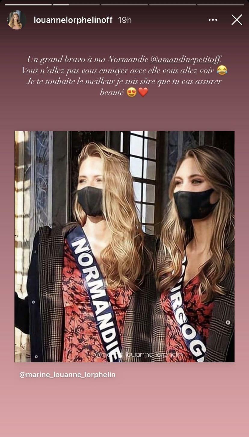 Story Instagram de Lou-Anne Lorphelin, 20 décembre 2020.