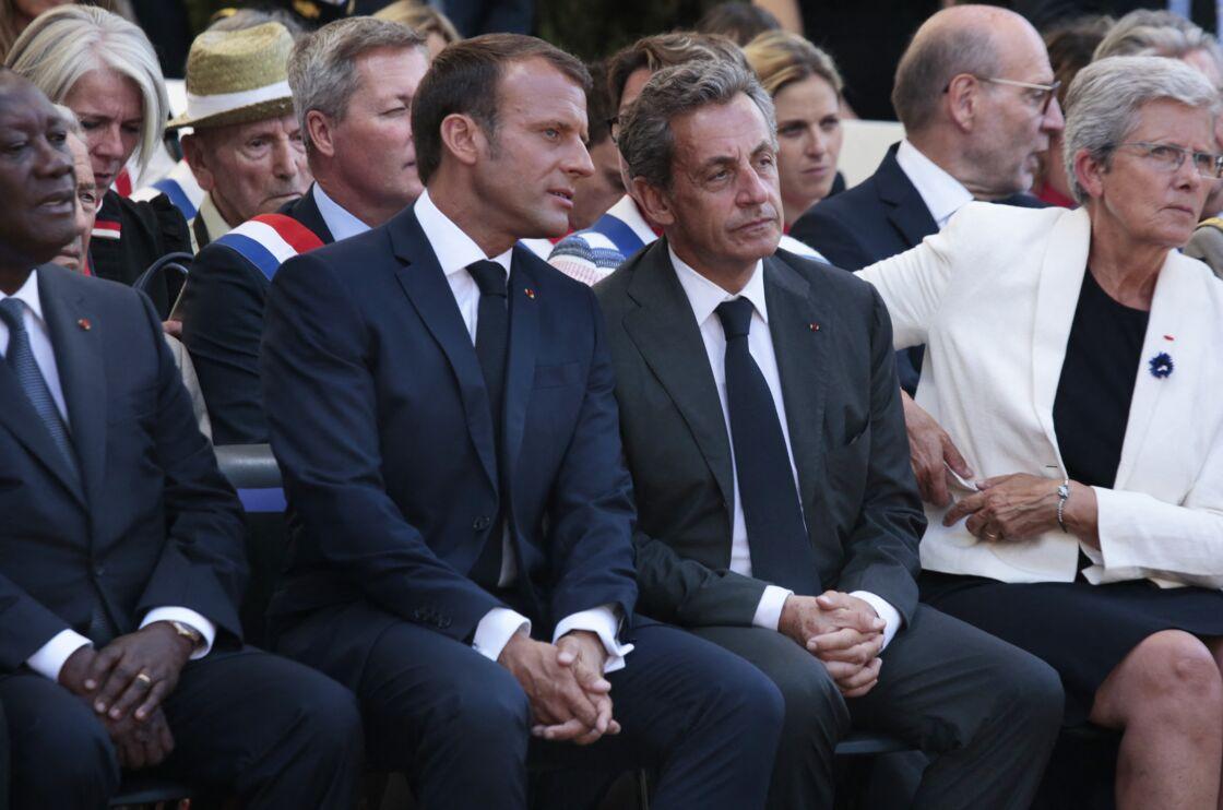 Pas dupe, Nicolas Sarkozy aurait vu clair dans la stratégie d'Emmanuel Macron, selon l'ancien ministre de l'Intérieur Brice Hortefeux.