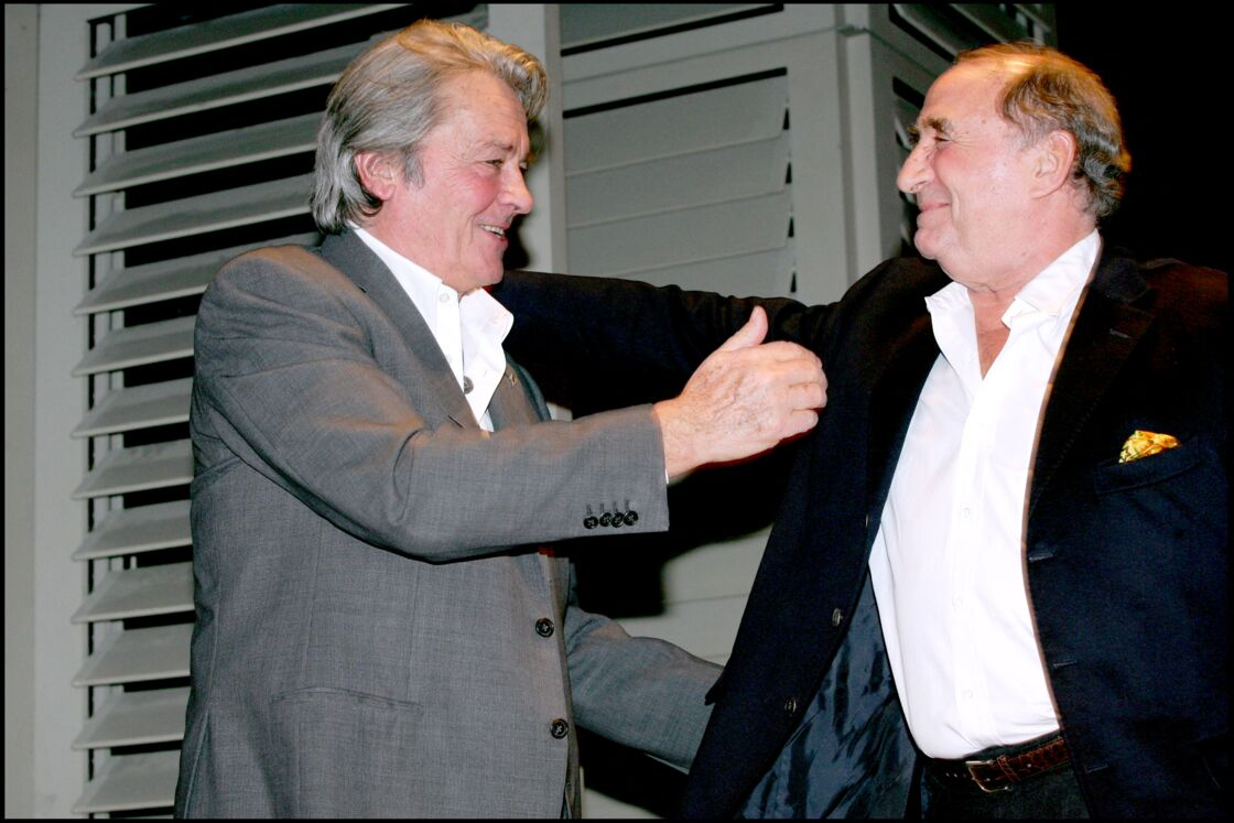 Alain Delon et Claude Brasseur avaient noué une belle amitié