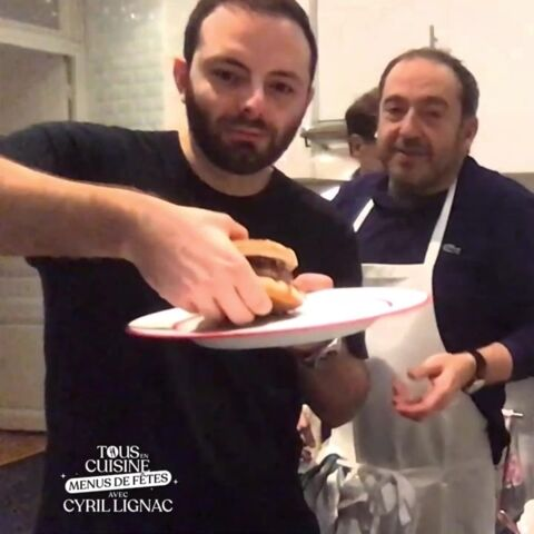 Patrick Timsit présente son fils Lazard dans Tous en cuisine
