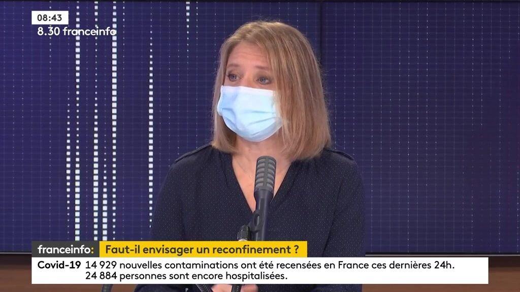 Karine Lacombe le 24 décembre 2020
